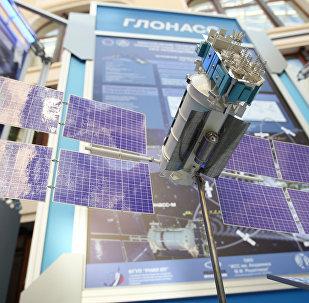Un prototipo del satélite Glonass-M