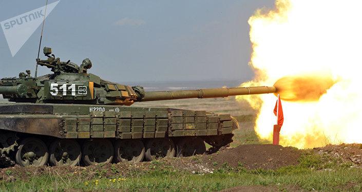 Las maniobras de tanques rusos en la región de Rostov del Don (archivo)