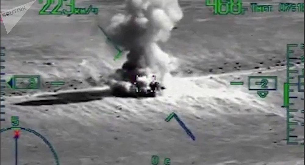 Desembarco de militares en la retaguardia de los yihadistas