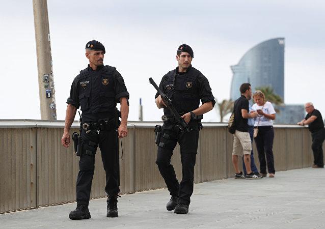 Situación en Barcelona tras el atentado (archivo)