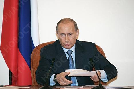 Nueva estructura del Gobierno Ruso
