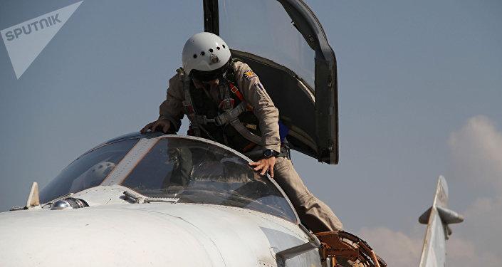 Aviación rusa en Siria (archivo)