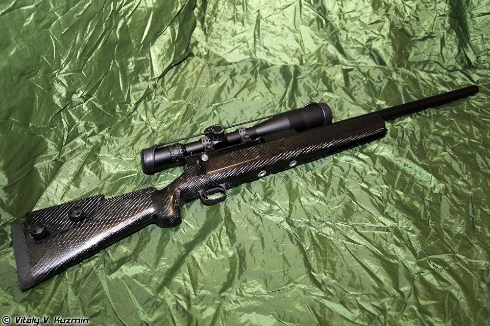 Un fusil de francotirador Lobaev (SVL)