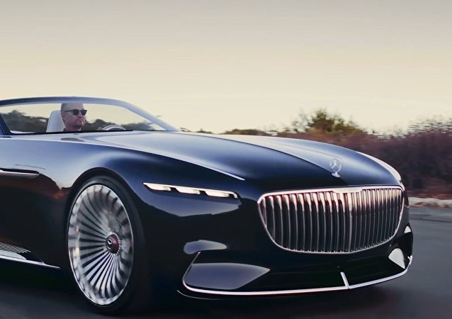 Vision Mercedes-Maybach 6 Convertible