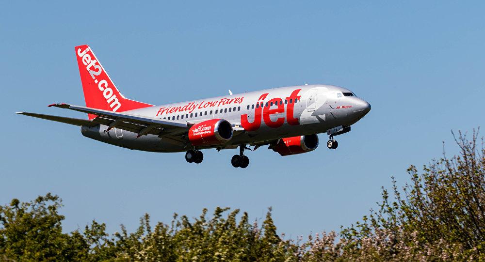 Avión de la aerolínea Jet2