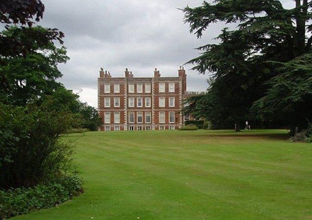 La mansión Gunby Hall