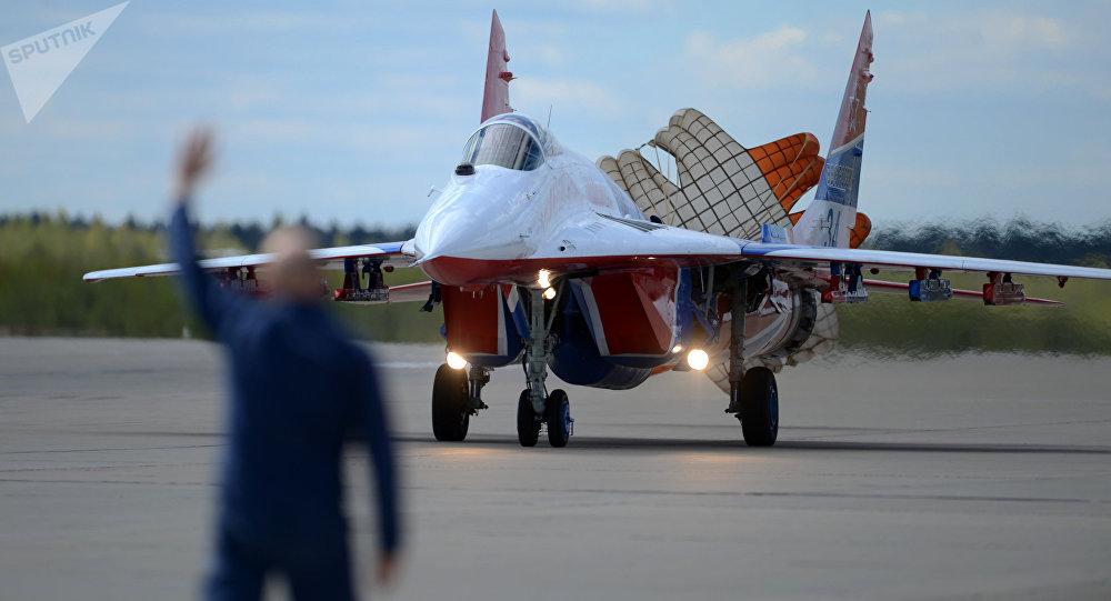 El caza ruso MiG-29