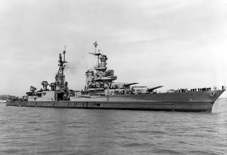 El buque USS Indianapolis