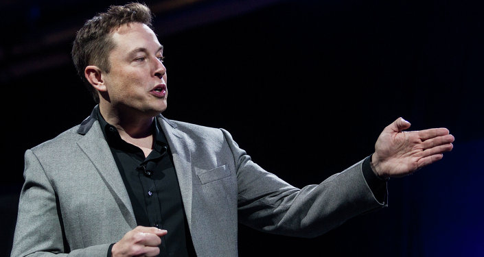 Elon Musk director jefe de Tesla Motors y SpaceX
