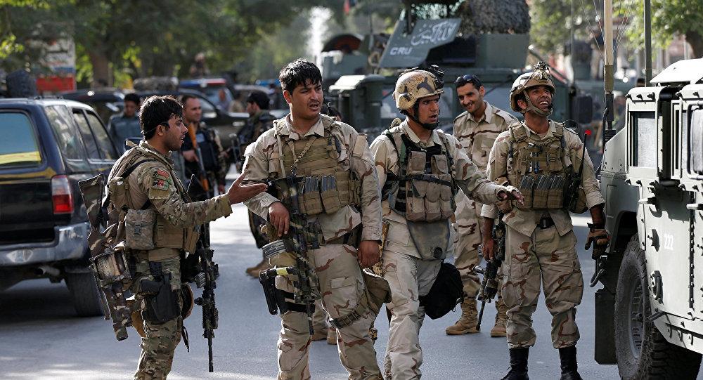 Las fuerzas de seguridad de Afganistán