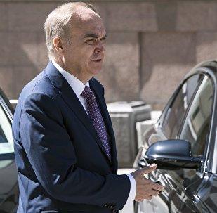 El embajador de Rusia en EEUU, Anatoli Antónov