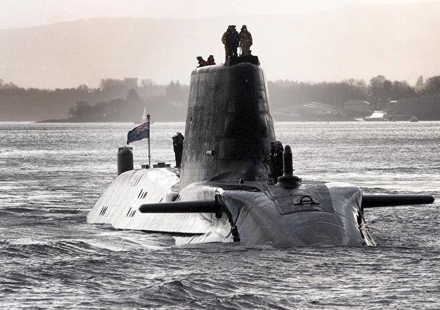 Submarino nuclear británico (archivo)
