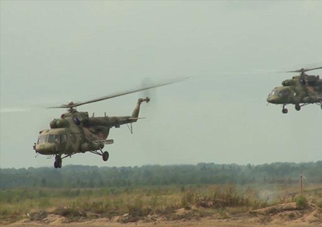 Las maniobras del regimiento de asalto de las Fuerzas Aerotransportadas de Rusia
