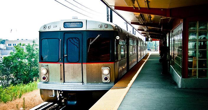 Un tren en Filadelfia, EEUU (imagen referencial)
