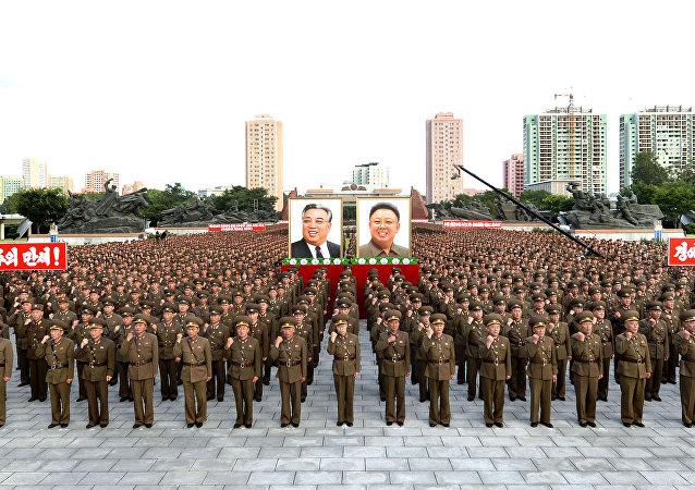 Los militares de Corea del Norte (archivo)