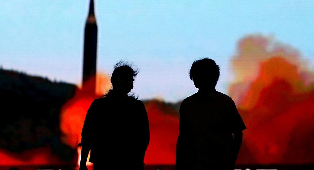 Lanzamiento del misil balístico norcoreano (archivo)
