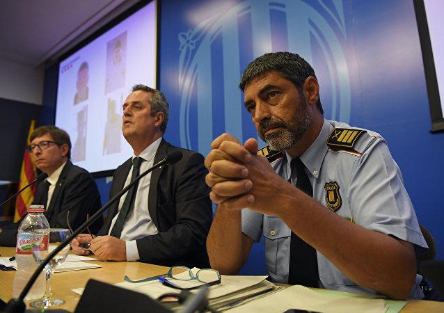 El comisario jefe de la Policía catalana, Josep Lluís Trapero