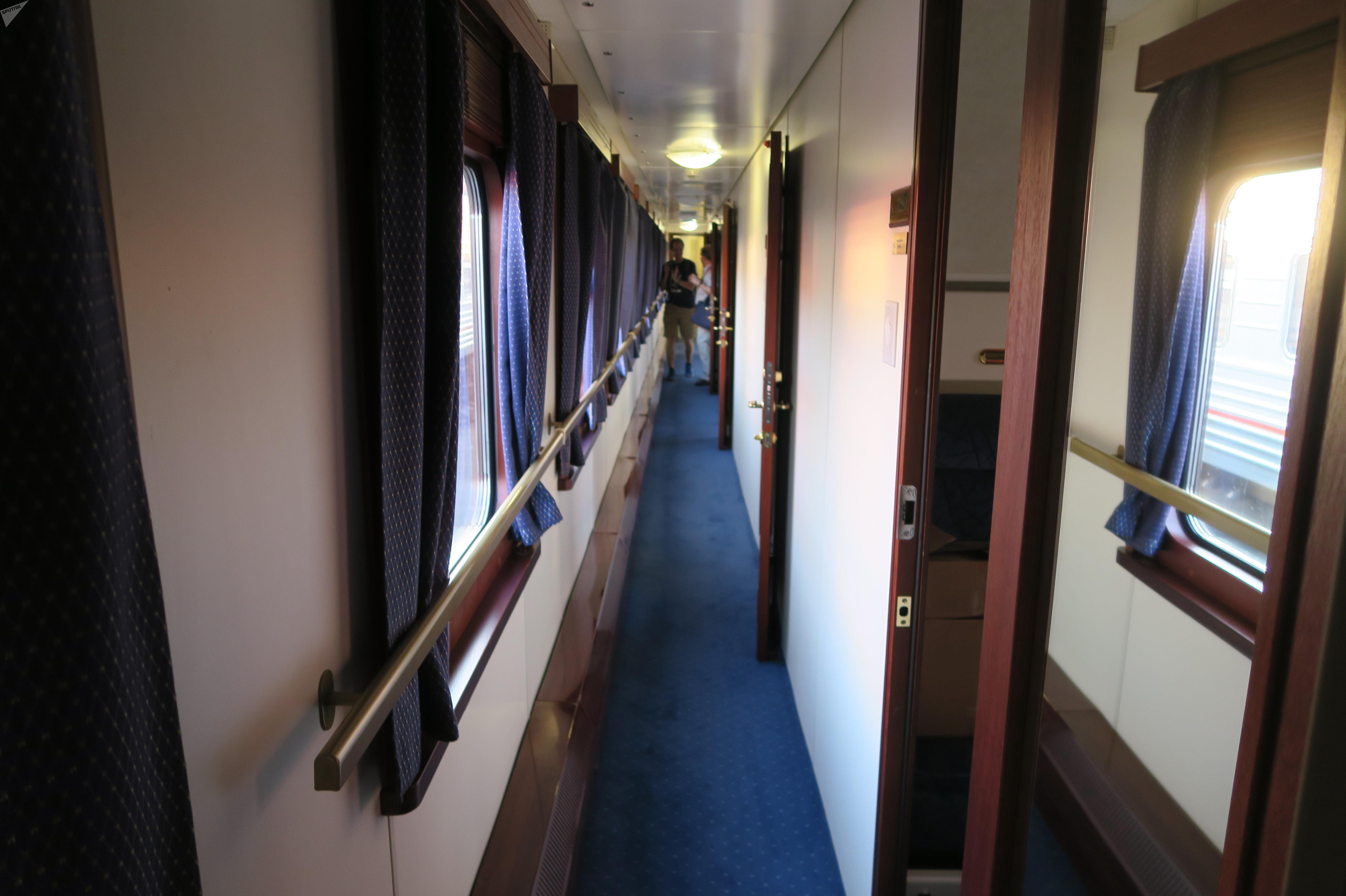 Un vagón del tren 'Rusia Imperial'