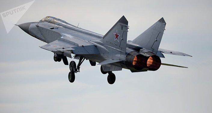 Un caza MiG-31