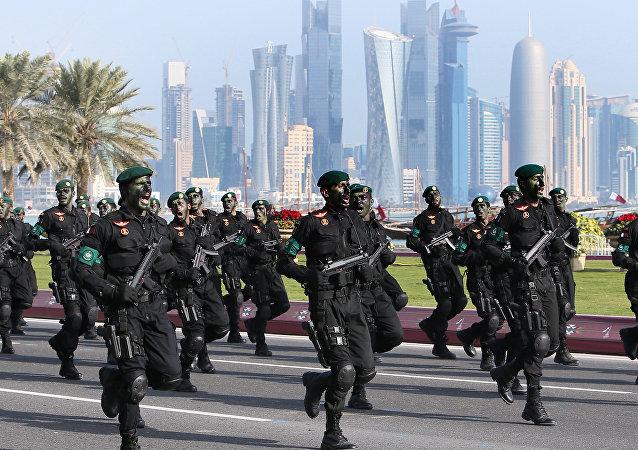Soldados cataríes (archivo)