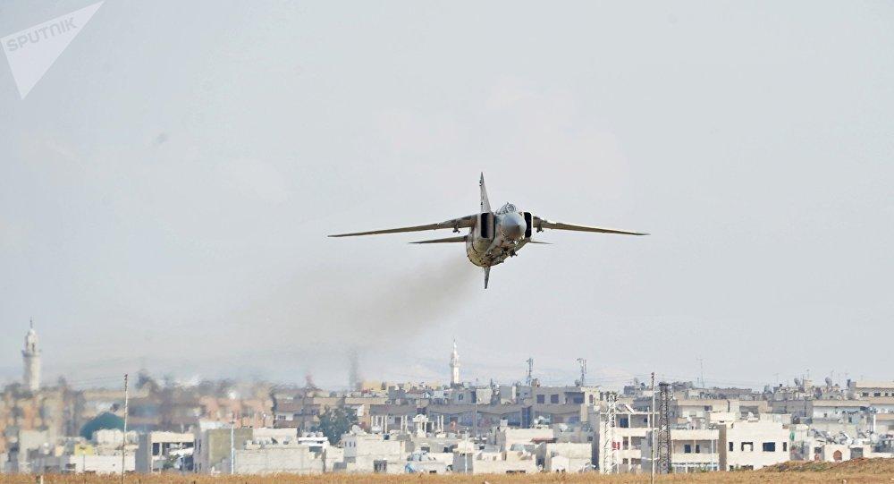 MiG-23 de la Fuerza Aérea siria