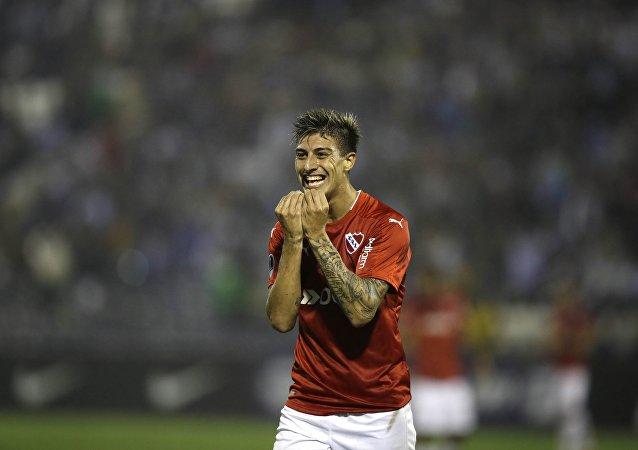 El futbolista argentino Emiliano Rigoni