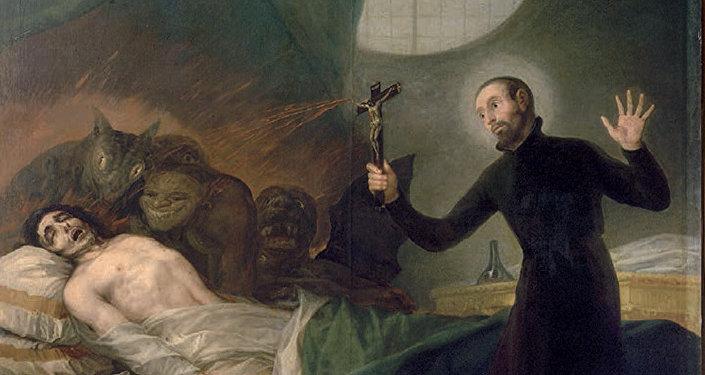 Ritual de exorcismo (imagen referencial)