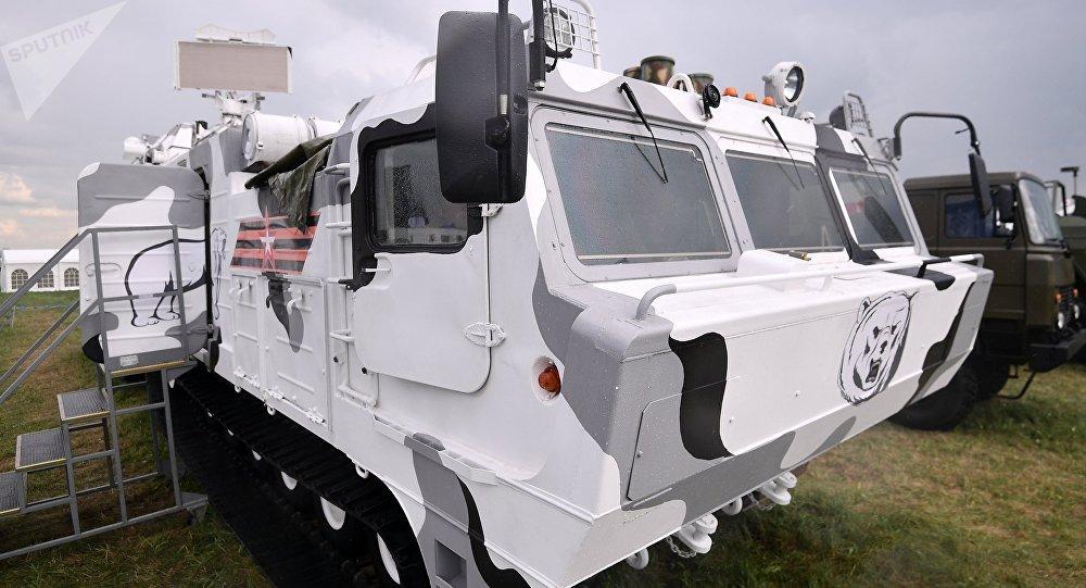 El sistema antiaéreo ruso Tor-M2DT