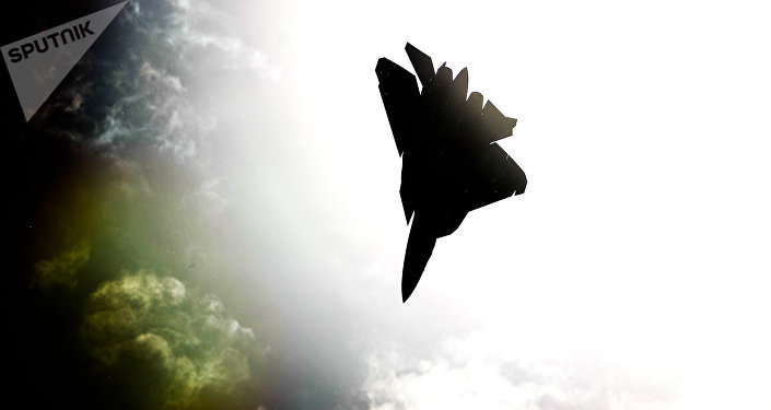 Caza ruso de quina generación Su-57 (archivo)