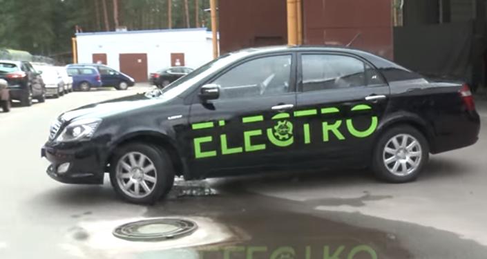 El primer vehículo eléctrico fabricado en Bielorrusia