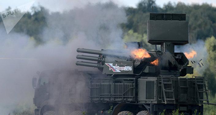 Pantsir-S1, sistema antiaéreo cañón-misil ruso