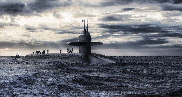 Un submarino (imagen referencial)
