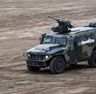 Vehículo blindado Tigr en el Foro Army 2017