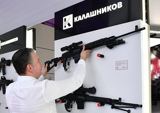 El gigante armamentístico Kalashnikov participa del Foro Militar Army 2017