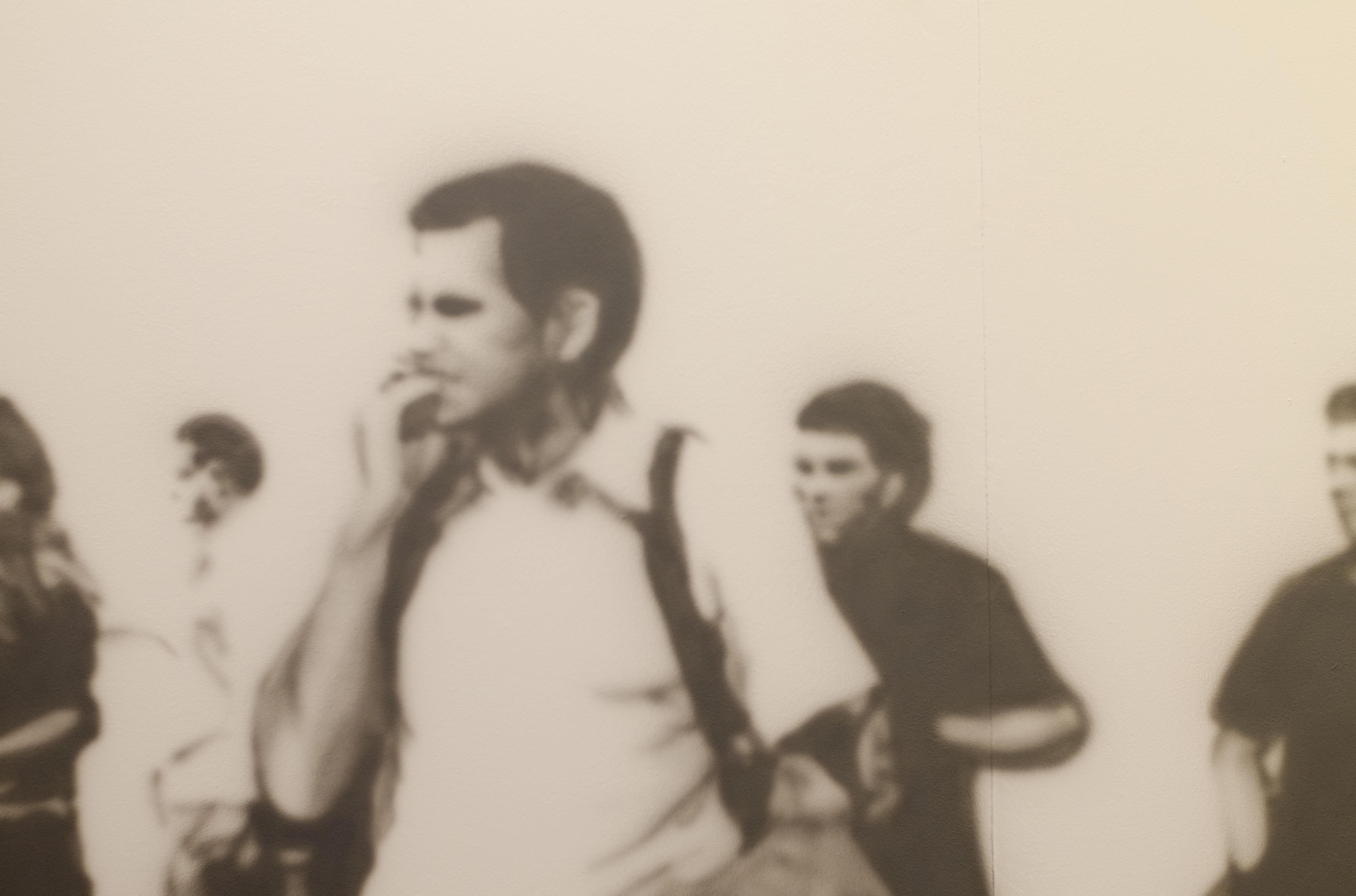 Una obra exhibida en el Museo Nacional de Artes Visuales de Montevideo en el marco de Bienalsur