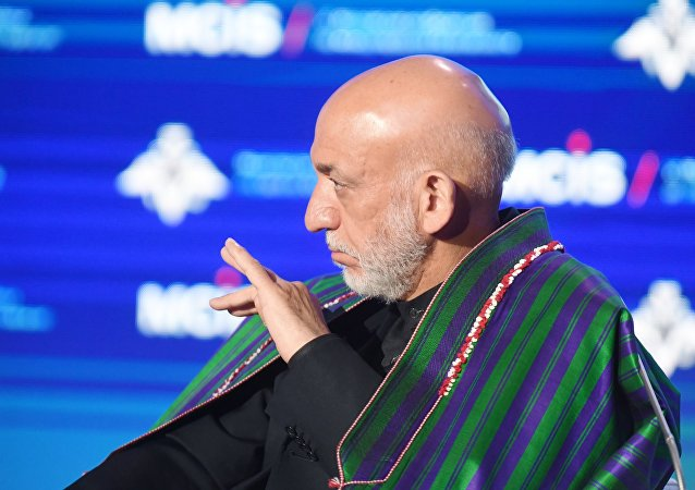 Hamid Karzai, expresidente afgano
