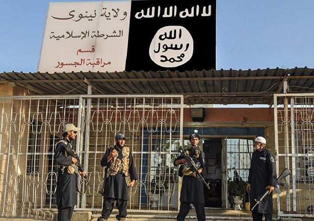 Yihadistas de Daesh en la ciudad siria de Deir Ezzor (archivo)
