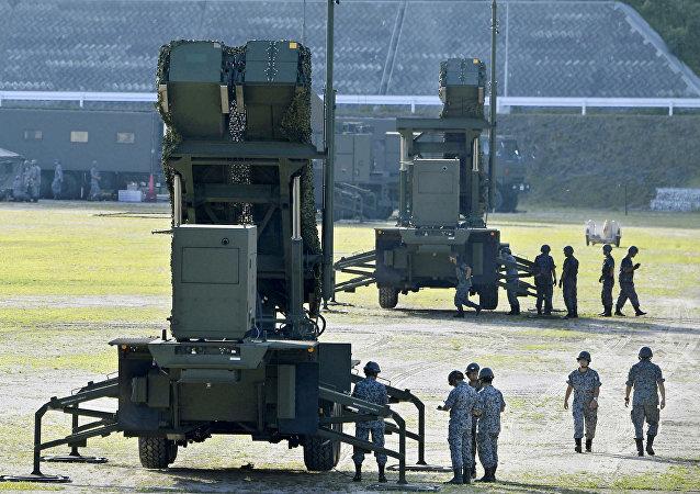Los sistemas Patriot PAC-3 en Japón