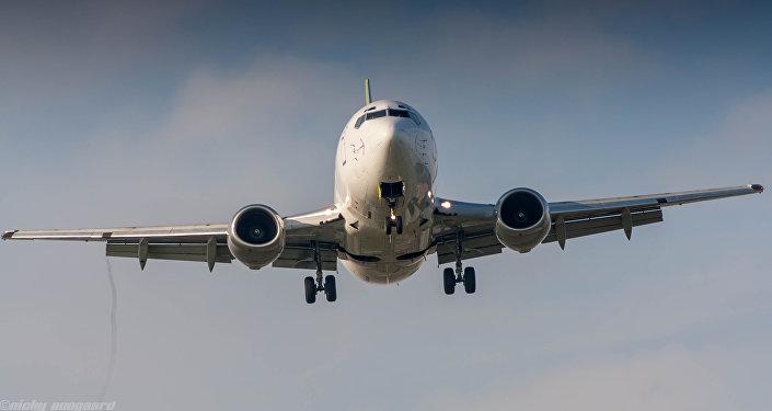 Un Boeing 737-500 (imagen referencial)