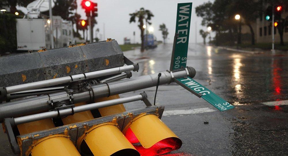 Consecuencias del huracán Harvey en Corpus Christi, EEUU