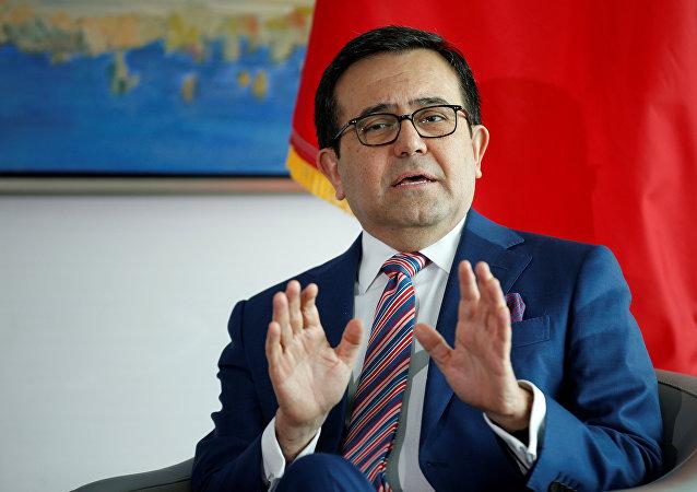 Ildefonso Guajardo, el jefe negociador de México (archivo)