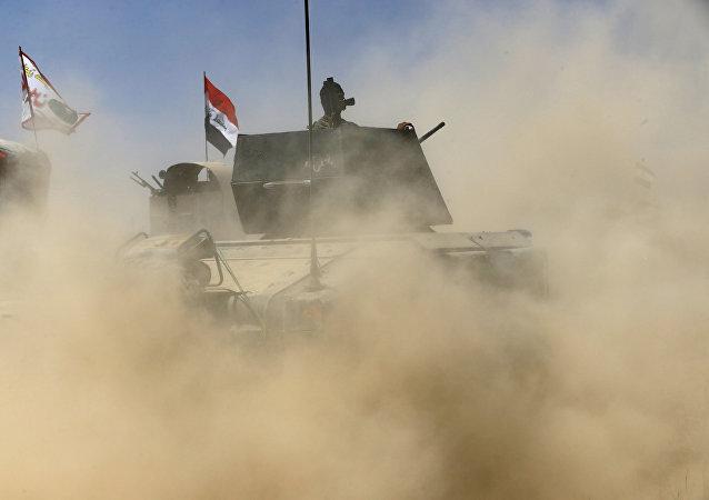 Militares iraquíes (archivo)