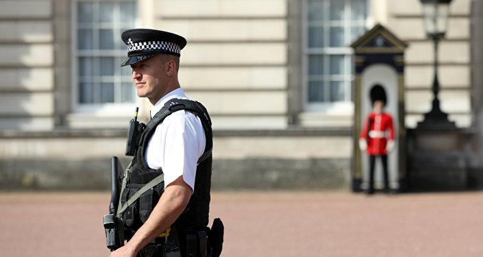 Un policía del Reino Unido (imagen referencial)