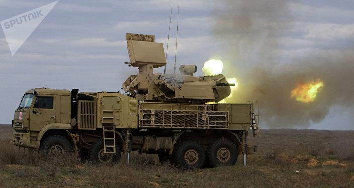 Pantsir-S1, uno de los sistemas de defensa antiaérea en servicio del Ejército sirio (archivo)