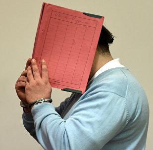El acusado Nils Hölger (archivo)