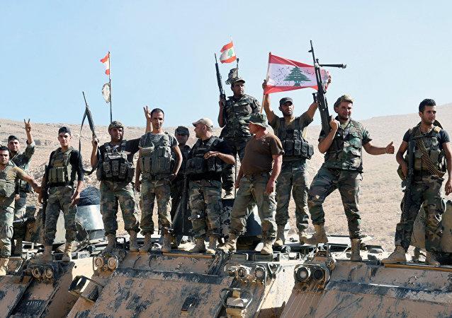 La victoria de los soldados del Ejército de Líbano
