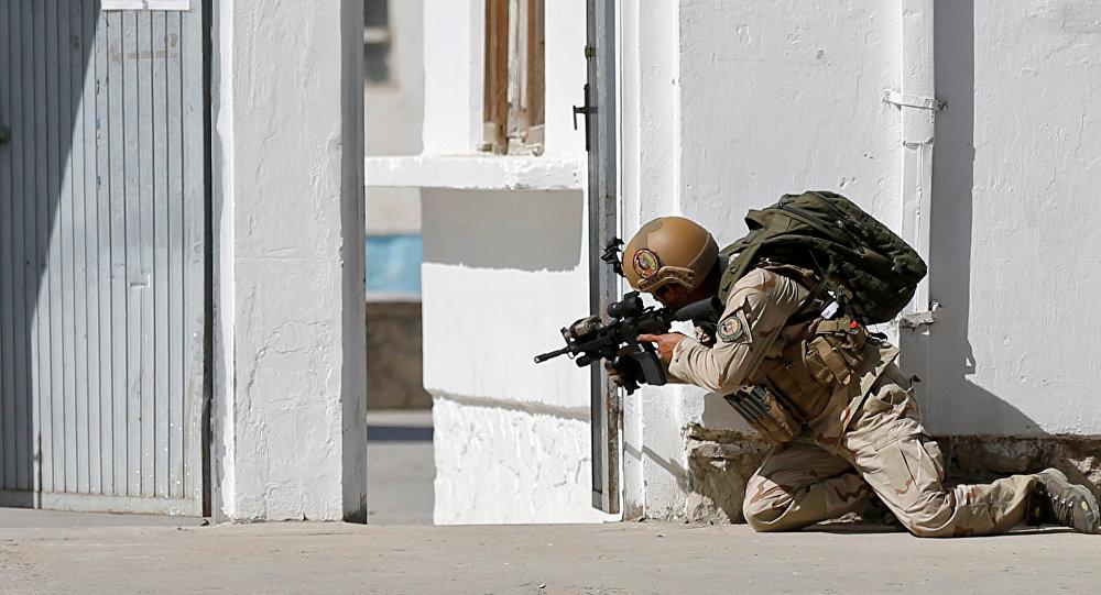 Un policía afgano (archivo)