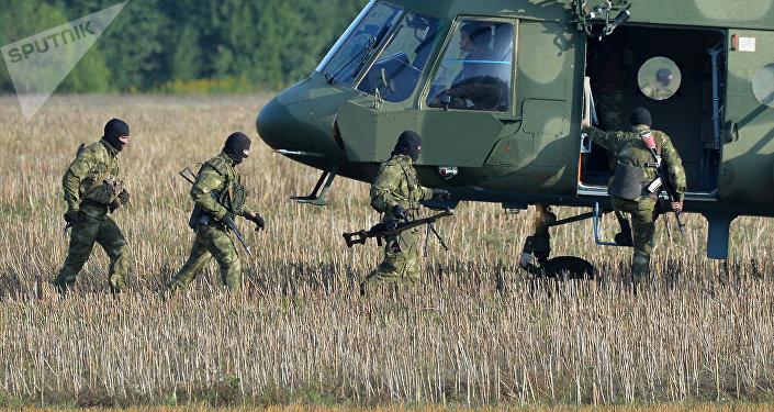Militares bielorrusos