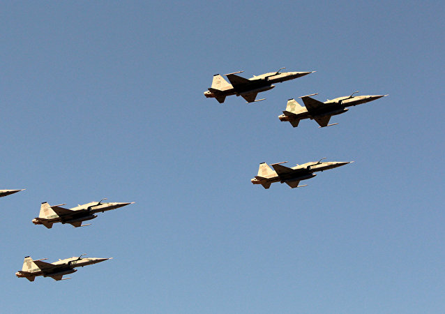 Aviones de caza F-5 de la Fuerza Aérea de Brasil