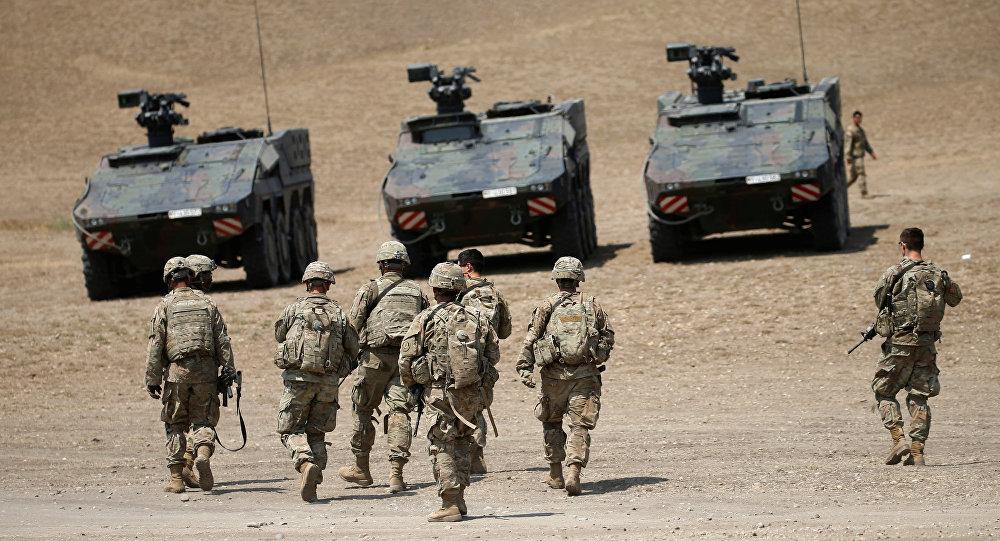 Una unidad militar de la OTAN (archivo)